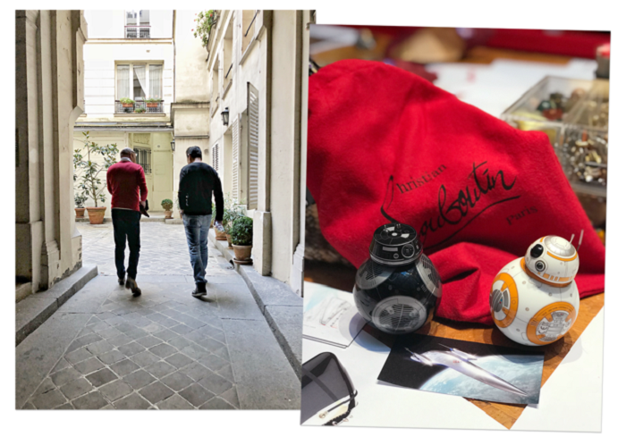Christian Louboutin x Disney Star Wars Collab the last jedi