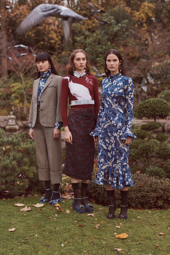 Erdem Pre Fall 2018 collection