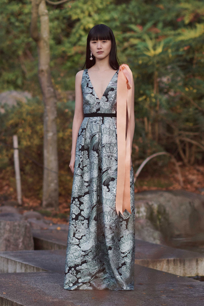 Erdem Pre Fall 2018 Collection floral dress