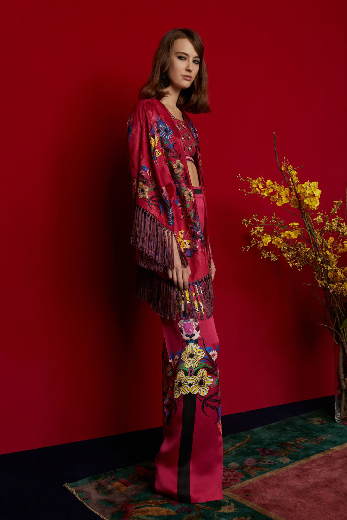 Etro Pre Fall 2018 Collection floral coordinates
