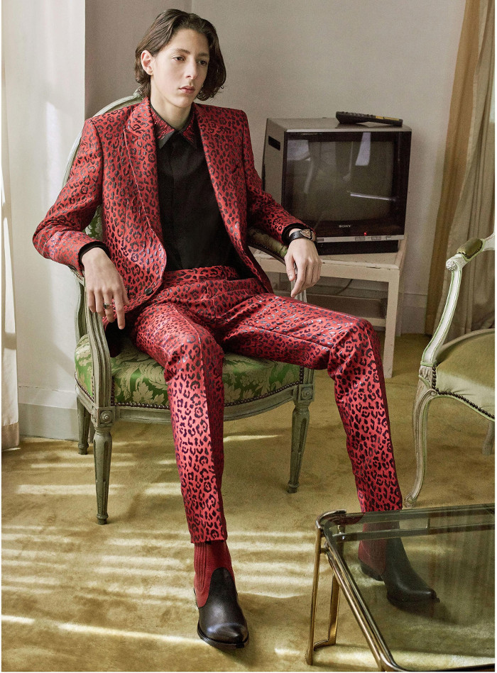 Givenchy Pre Fall 2018 Collection leopard suit