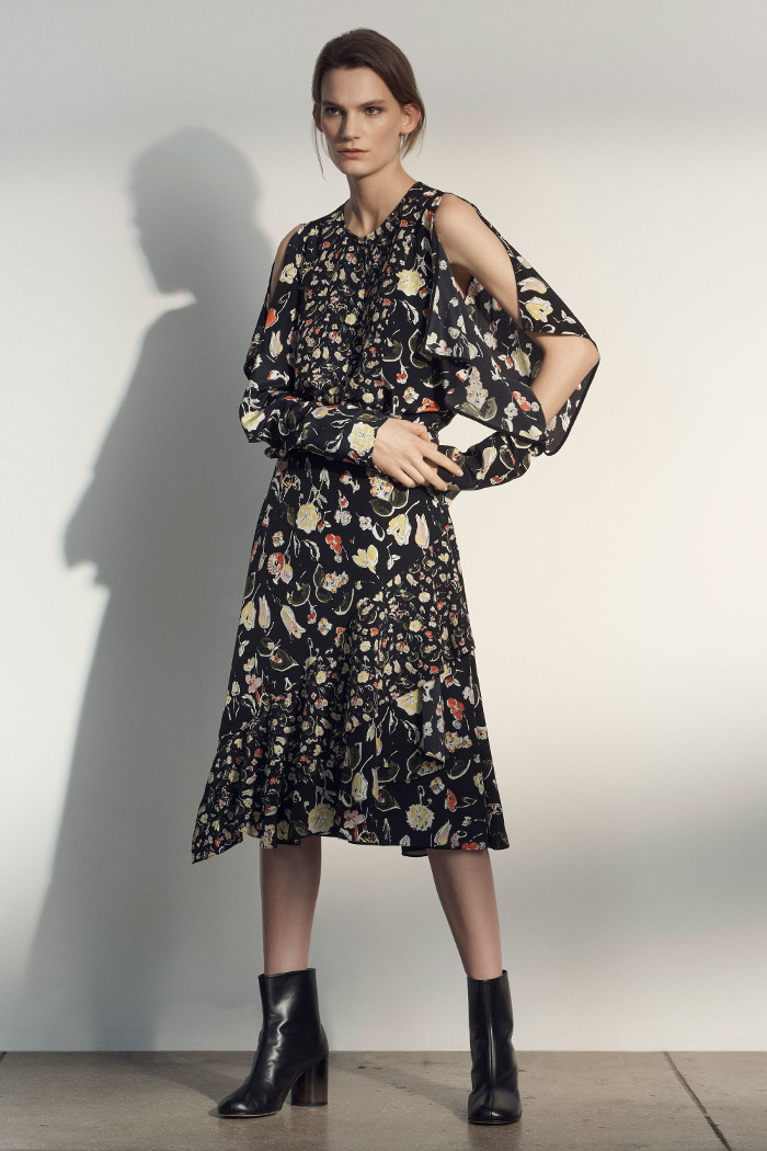 Grey Jason Wu Pre Fall 2018 Collection floral dress