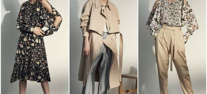 Grey Jason Wu Pre-Fall 2018 Collection