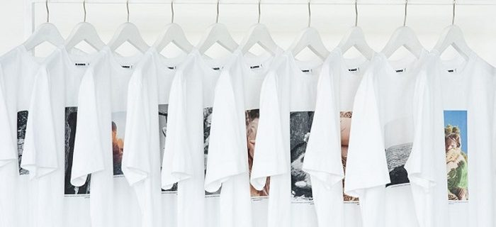Jil Sander x Mario Sorrenti Exclusive Collab