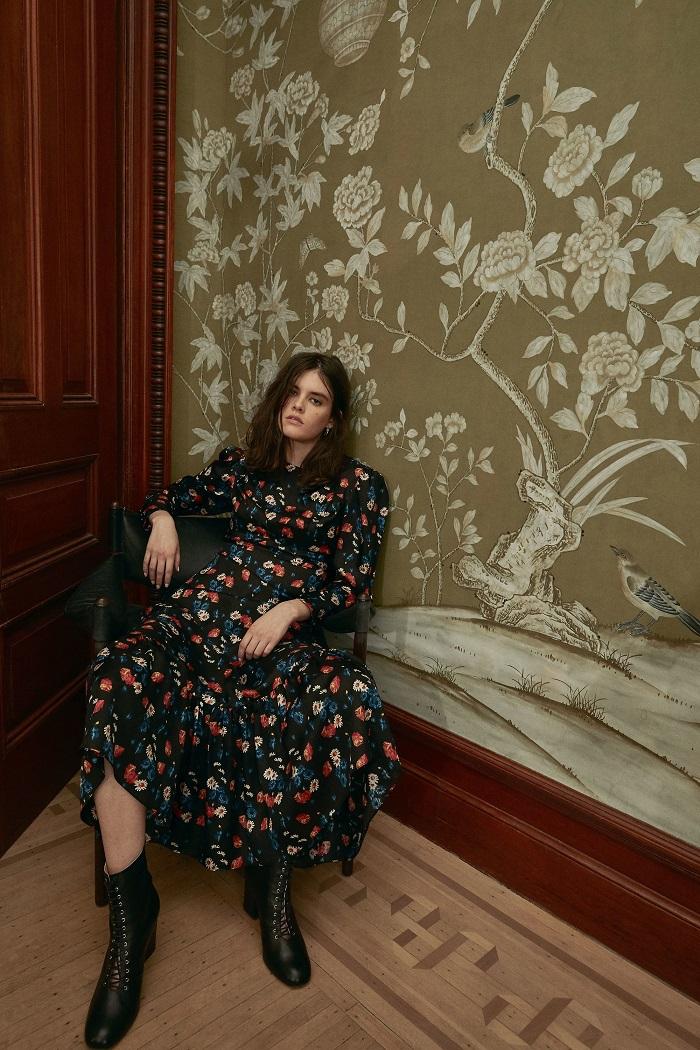 Jill Stuart Pre-Fall 2018 Collection floral dress