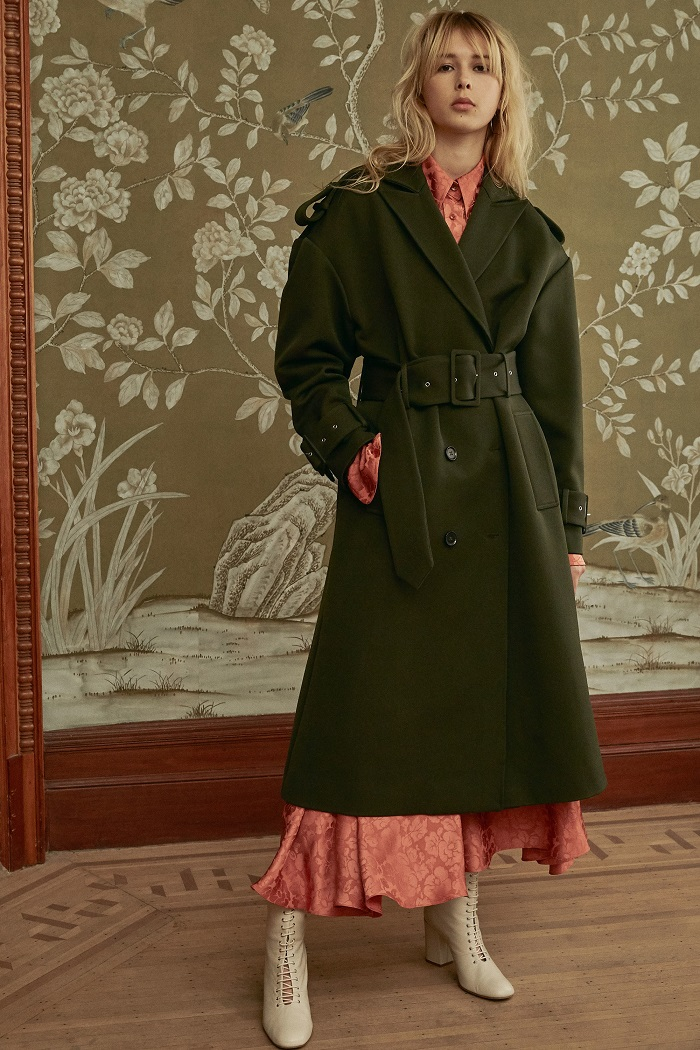 Jill Stuart Pre-Fall 2018 Collection dress coat
