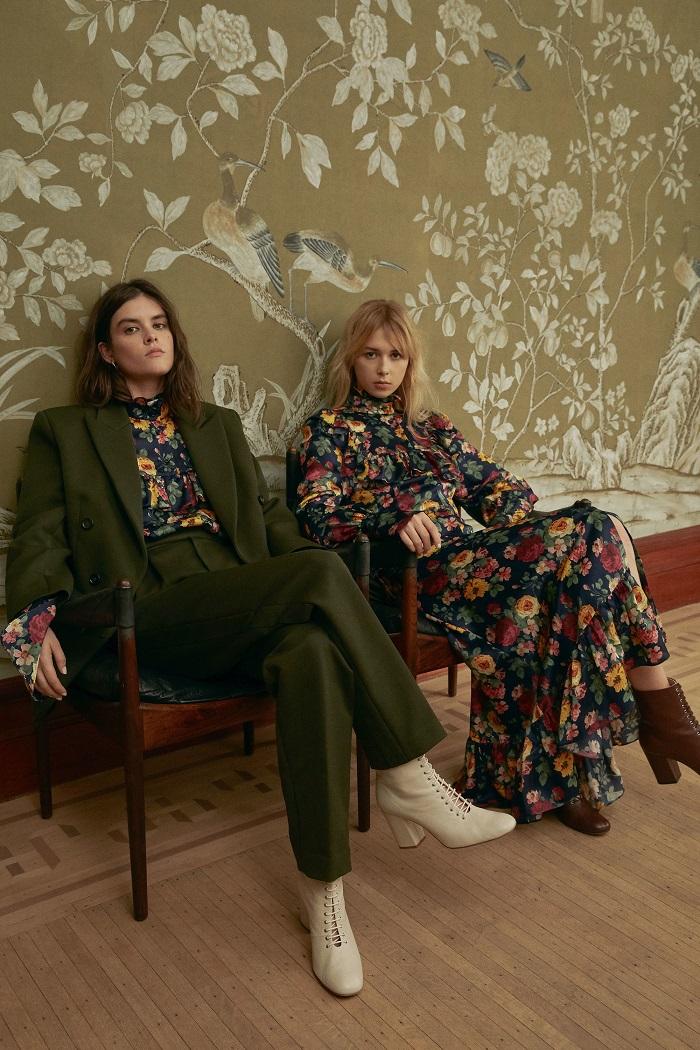 Jill Stuart Pre-Fall 2018 Collection suit floral dress