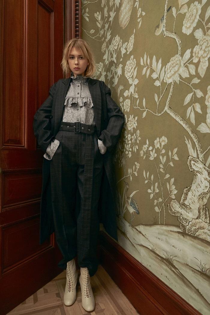 Jill Stuart Pre-Fall 2018 Collection plaid suit