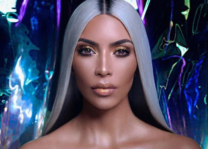 Kim Kardashian Has An Open Casting Call for KKW Campaigns Kim Kardashian as blonde