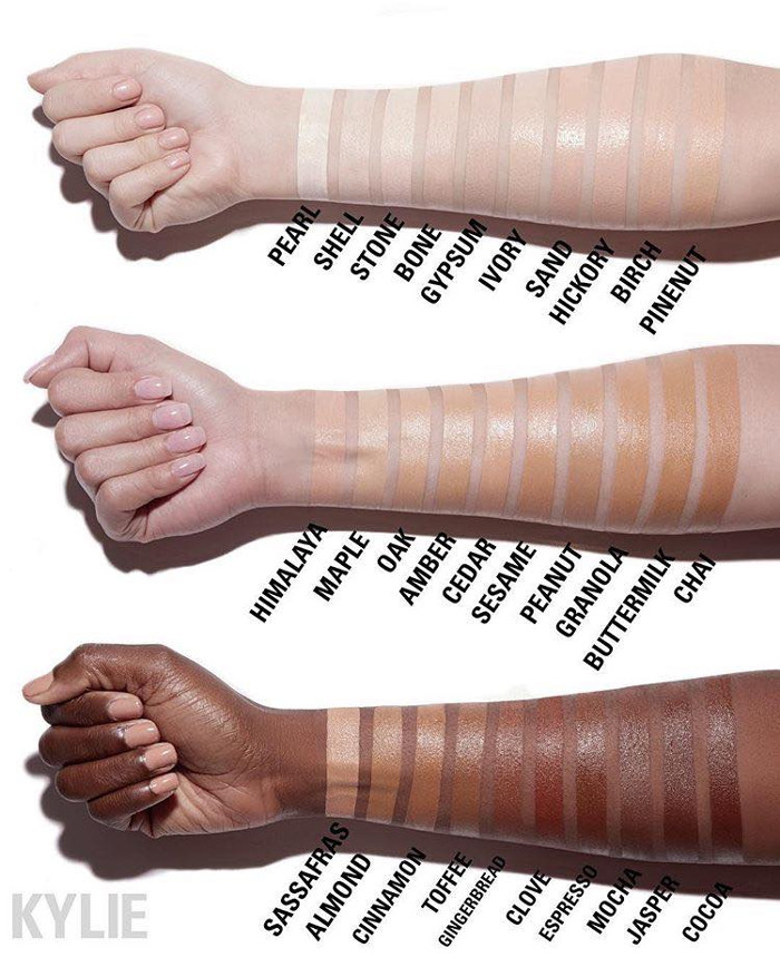 Kylie Cosmetics Expands With Concealers and Hard Lipsticks Concealer Shade Range