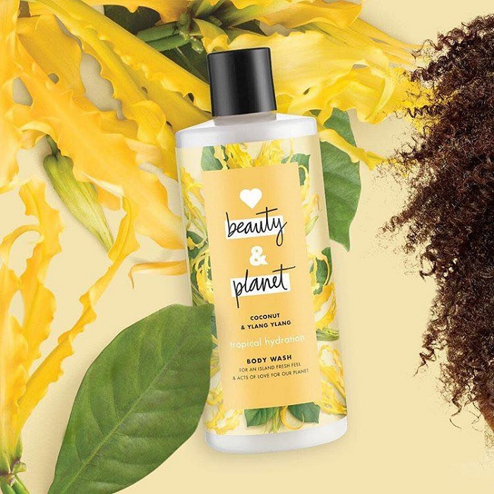 Love Beauty & Planet New Drugstore Eco-Friendly Brand body wash