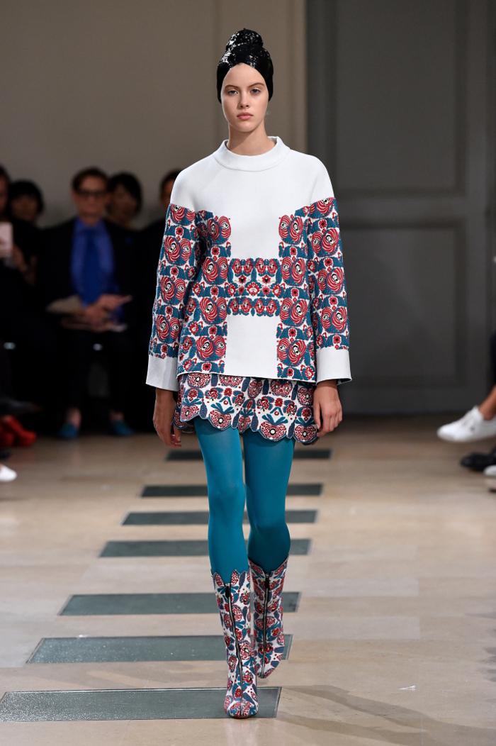 Azzedine Alaia Couture Fall 2017