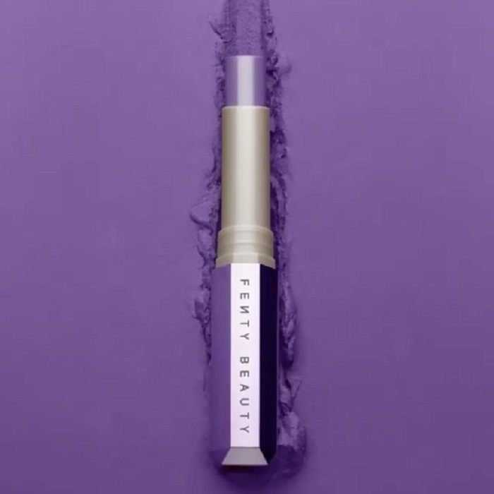 Rihanna Reveals Mattemoiselle Matte Lipsticks Fenty Beauty purple lipstick