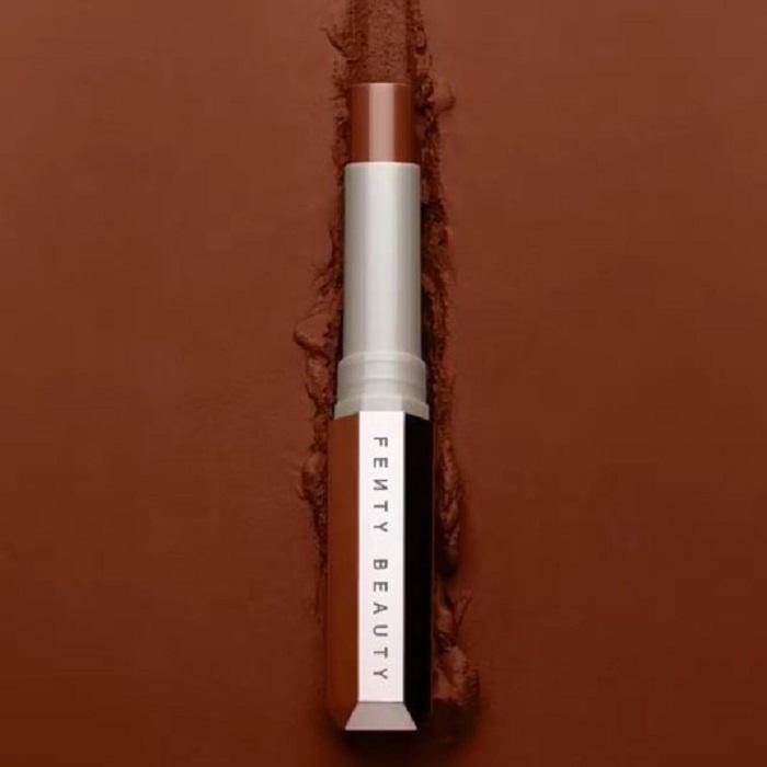 Rihanna Reveals Mattemoiselle Matte Lipsticks Fenty Beauty bronze lipstick