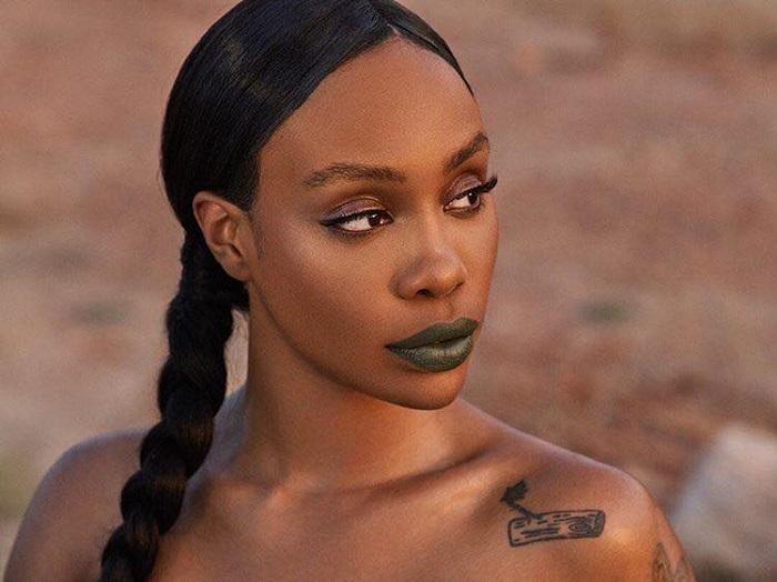 Rihanna Reveals Mattemoiselle Matte Lipsticks Fenty Beauty green lipstick SZA