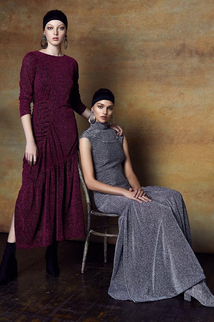 Sachin & Babi Pre-Fall 2018 Collection maxi glittery dresses