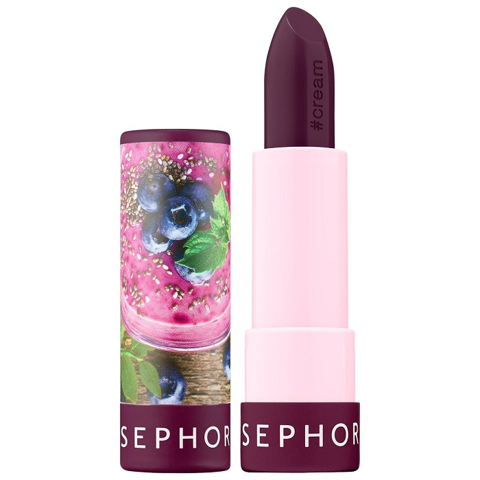 Sephora Launches 40-Shade Lipstick Collection burgundy lipstick