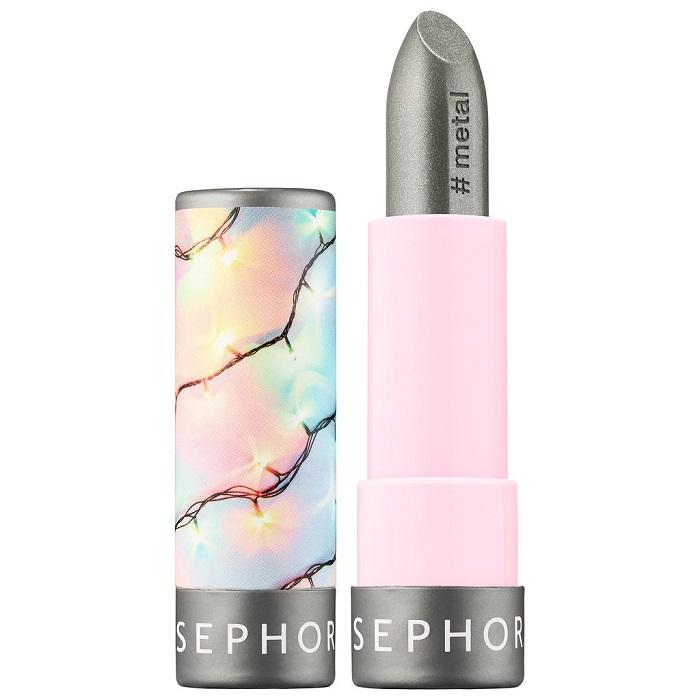 Sephora Launches 40-Shade Lipstick Collection silver lipstick
