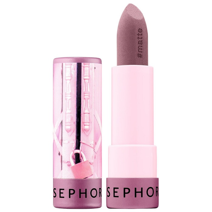 Sephora Launches 40-Shade Lipstick Collection mauve lipstick