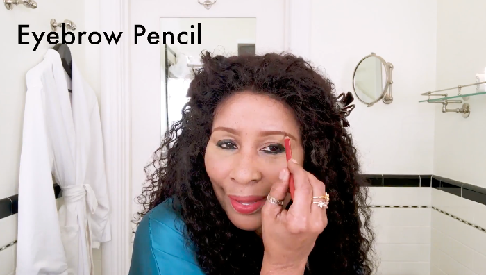 Watch Chaka Khan's Diva Makeup Ritual brow transformation