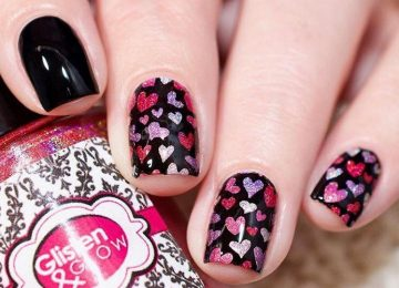 Cute Valentine's Day Nail Art To Swoon Over