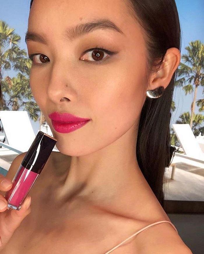 Estée Lauder's Pure Color Envy Liquid LipColor Campaign Fei Fei Sun