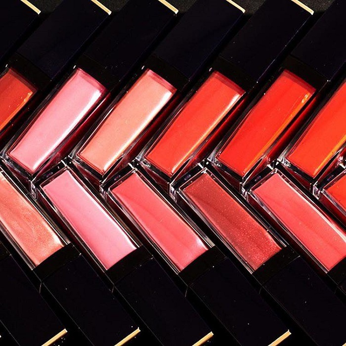 Estée Lauder's Pure Color Envy Liquid LipColor Campaign shade range
