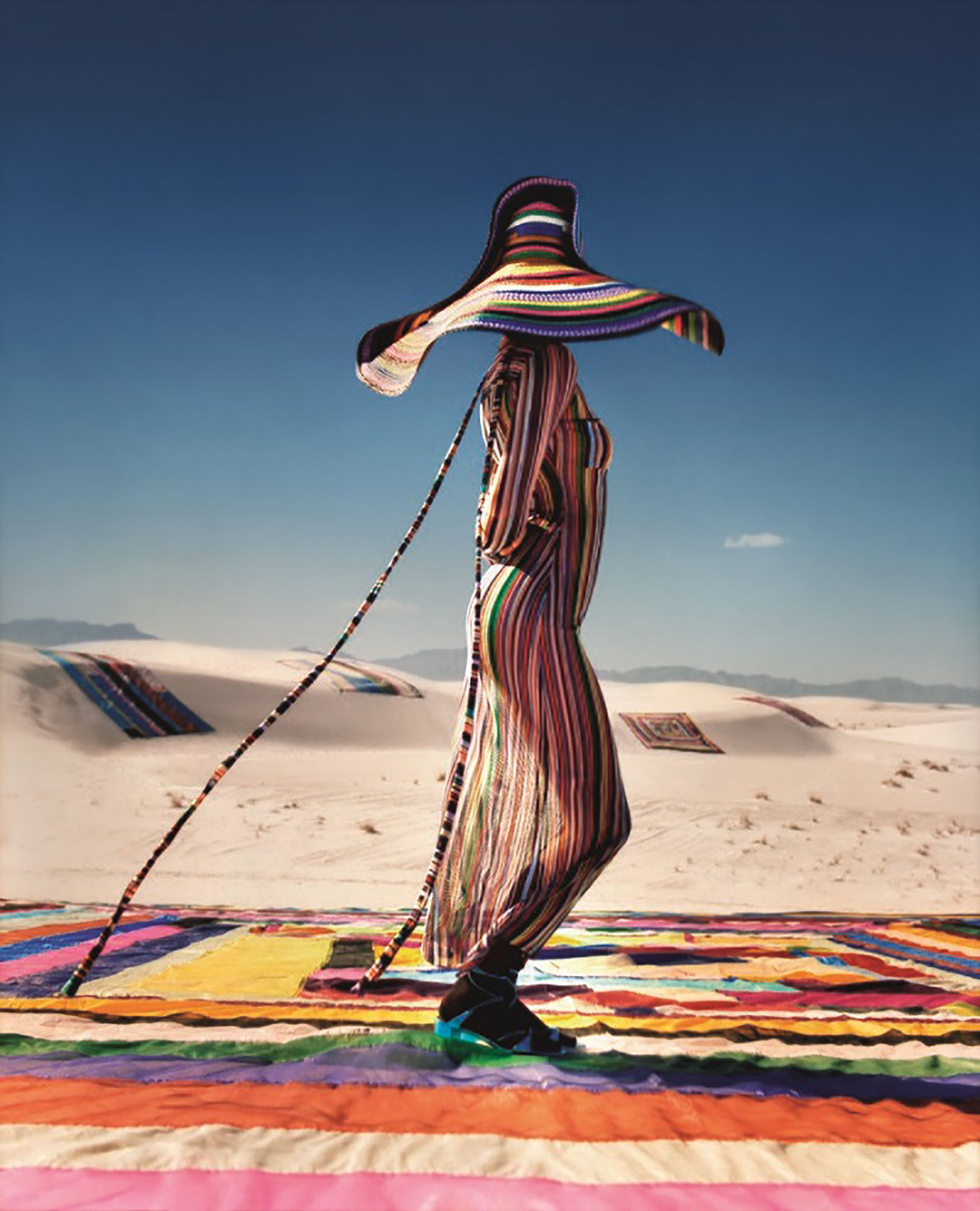 Missoni's Spring Summer 2018 Ads Feature Kendall Jenner striped sheer dress