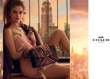 Selena Gomez Stars In Coach's Spring 2018 Campaign