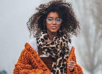 7 Chic Ways to Style Oversized Scarves