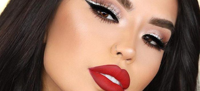 7 Red Lipstick Makeup Looks for Every Day of The Week