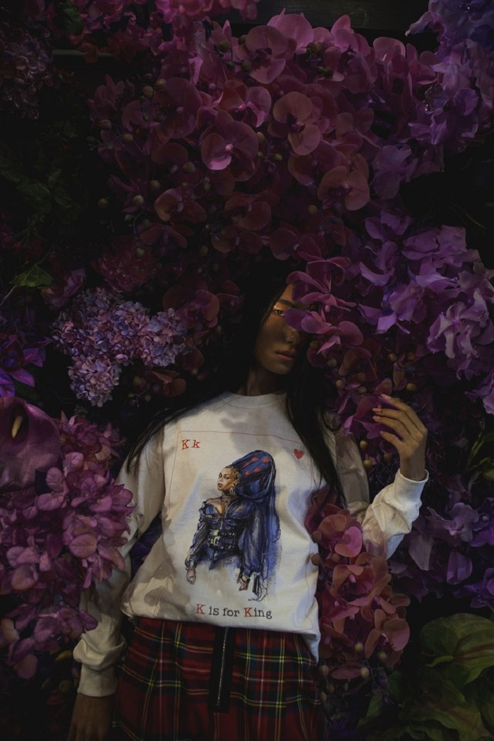 Beyoncé Drops Valentine's Day Merchandise white sweatshirt
