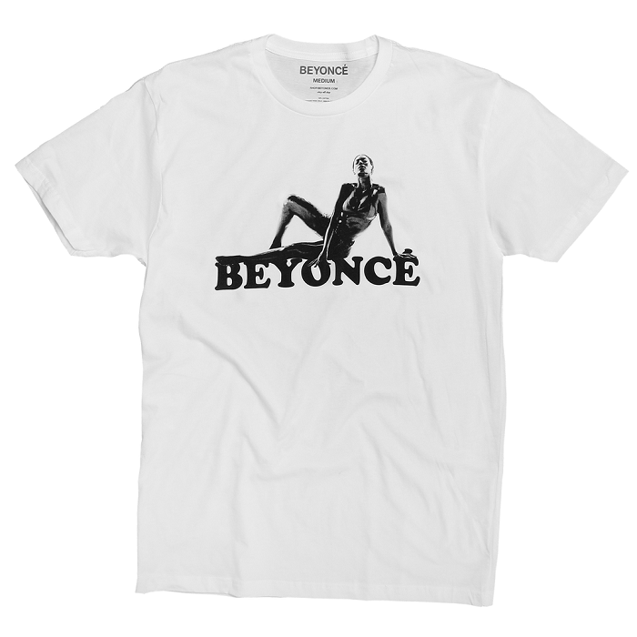 Beyoncé Drops Valentine's Day Merchandise white t shirt