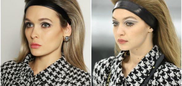 Gigi Hadid Chanel Runway Makeup Tutorial.