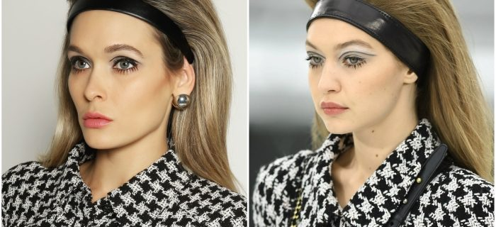 Gigi Hadid Chanel Runway Makeup Tutorial.