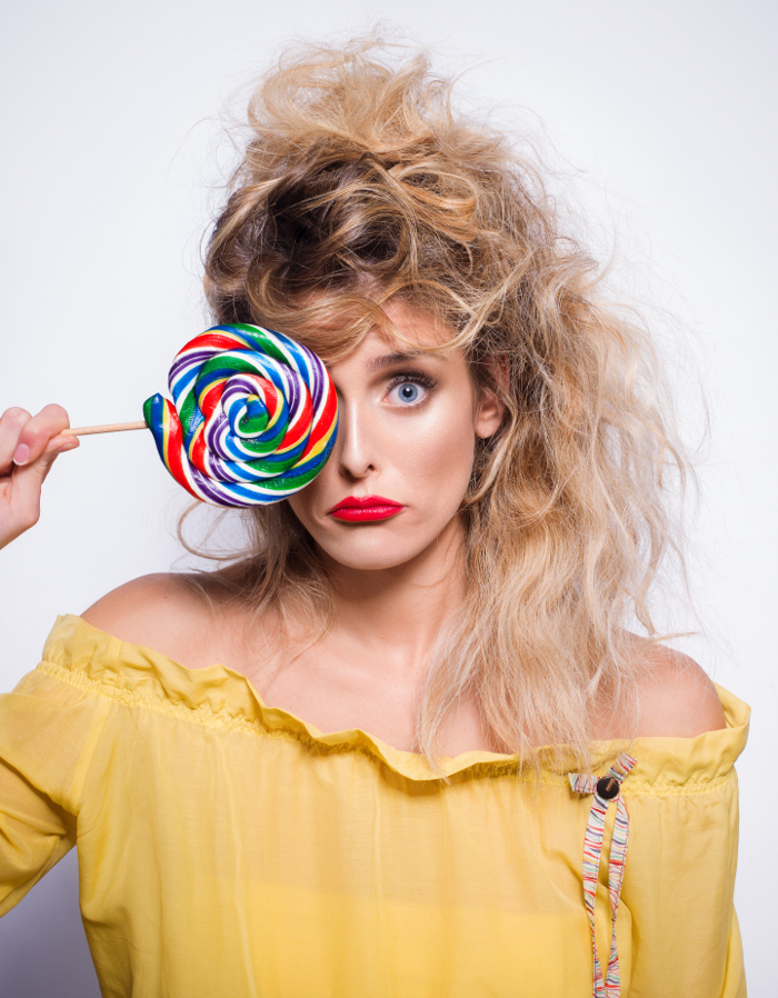 Fresh It Ways to Style Your Hair in SpringSummer 2018 '80s hair