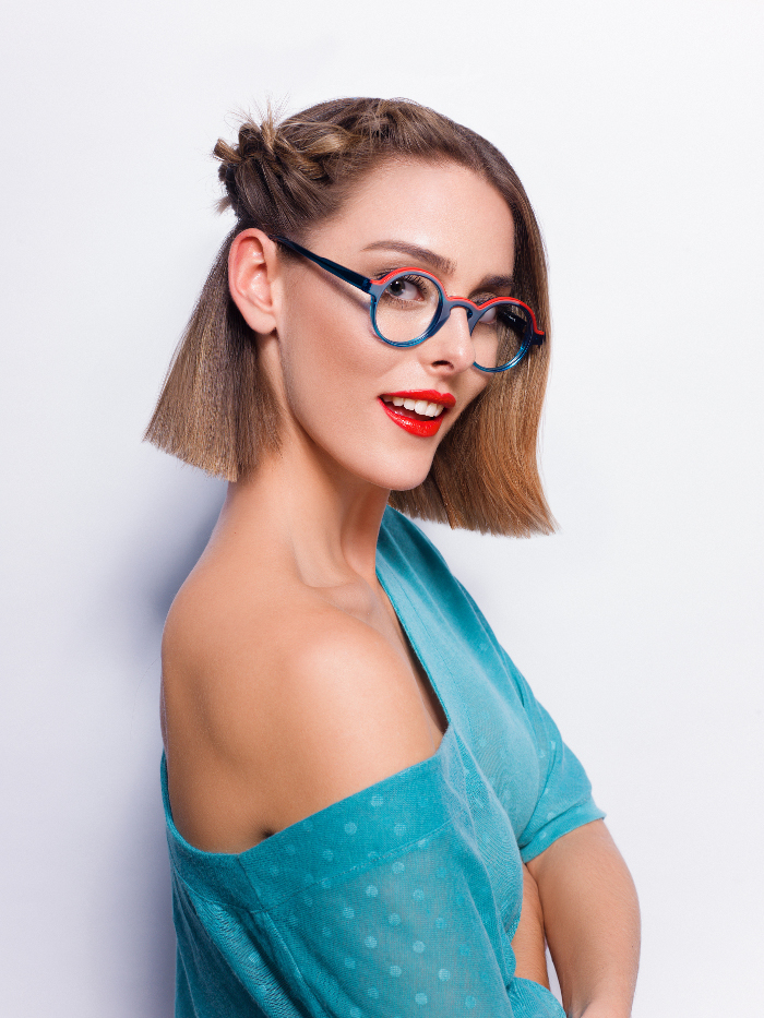Fresh It Ways to Style Your Hair in SpringSummer 2018 bob with side braid