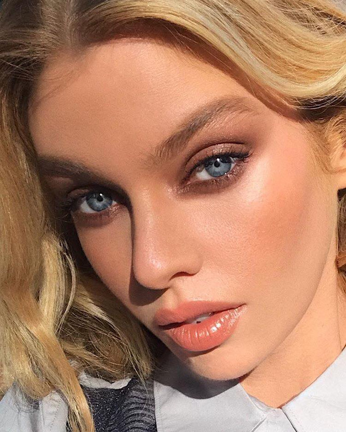 How to transition your makeup from winter to spring Stella Maxwell