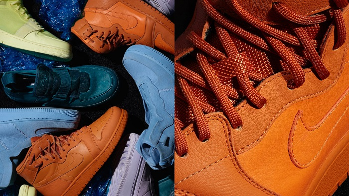 Nike's Unlaced Is About to Change the Future of Women's Sneakers blue orange sneakers