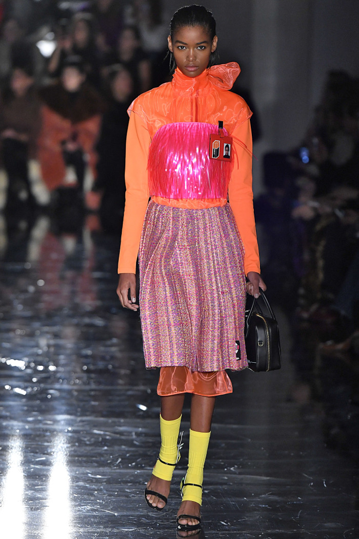 Prada Fall 2018 Collction at MFW