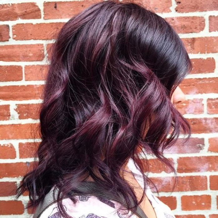 Hair Colors: Blackberry Hair Is The Unexpected Spring Hair Color Trend