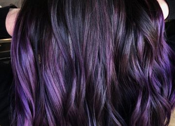Blackberry Hair is The Unexpected Spring Hair Color Trend