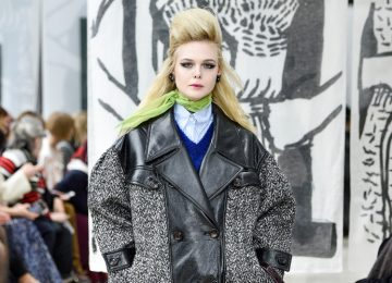 Elle Fanning Made Her Runway Debut at PFW