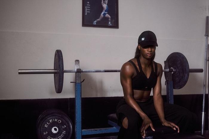"Ivy Park Releases ""Strong Beyond Measure"" SpringSummer 2018 Campaign black bra leggings"