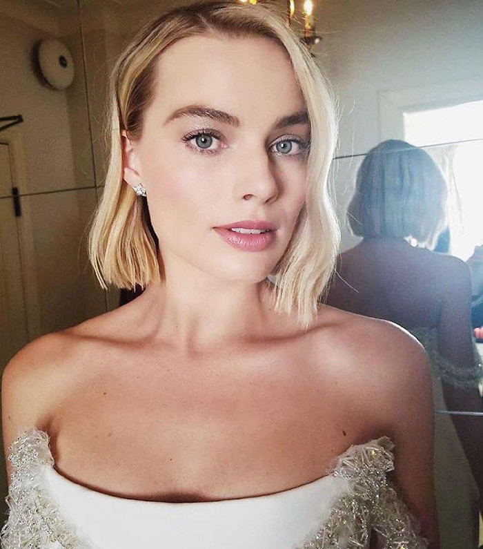 Margot Robbie is the New Chanel Brand Ambassador makeup for Oscars 2019