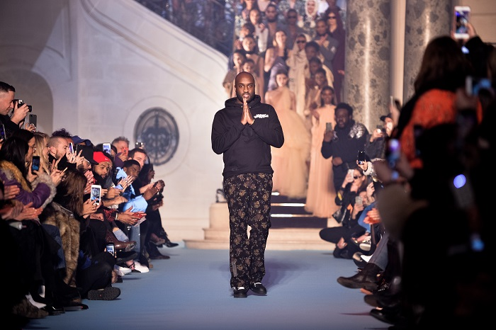 Virgil Abloh Is Louis Vuitton's New Menswear Artistic Director runway fall 2018
