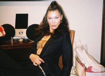 Bella Hadid Frees The Nipple After Plastic Surgery Accusations