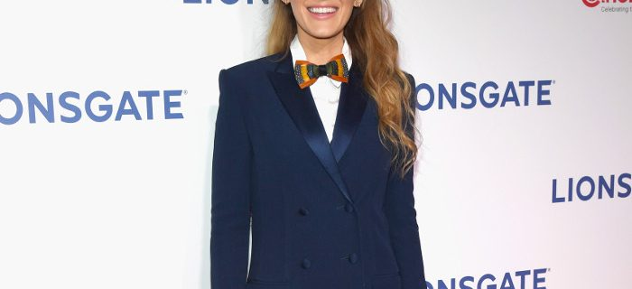 Blake Lively Just Wore a Tux Without Pants