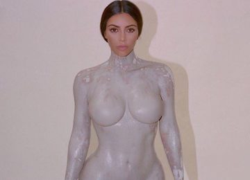 Kim Kardashian's New Fragrance Honors Her Naked Body