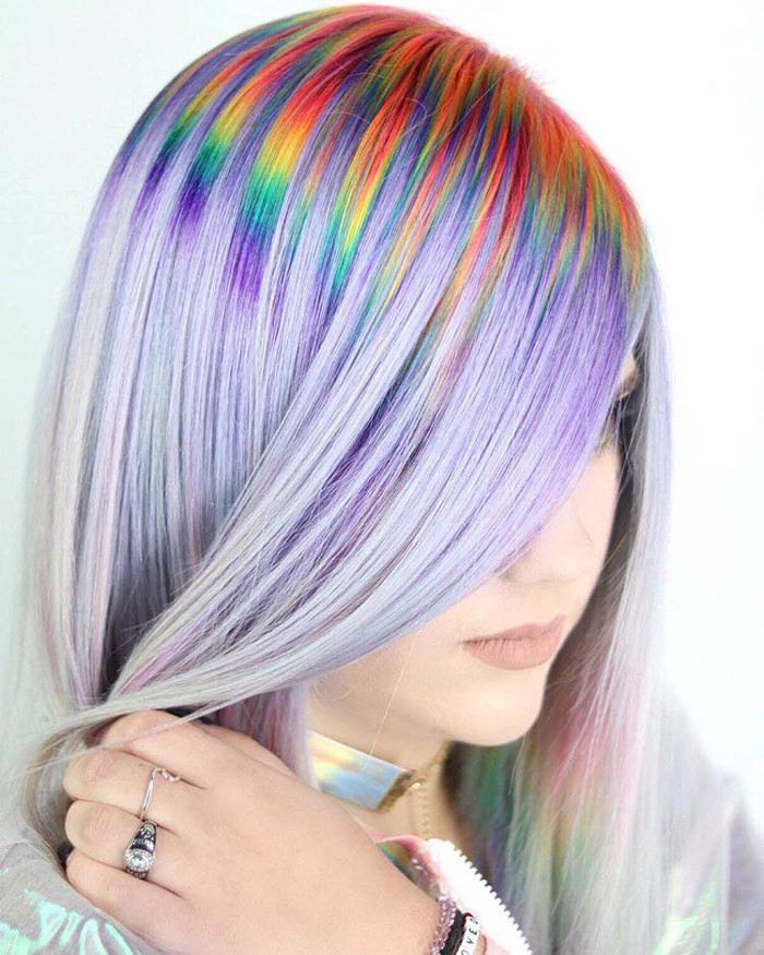 Prism Roots The Colorful Dye Job You Need This Summer Fashionisers